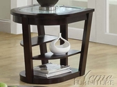 ACME 80016 CRACKLE GLASS END TABLE