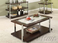 ACME 80036-37-38 Jae Espresso Finish Coffee/End Table Set