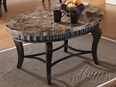 ACME 80068 BROWN COFFEE TABLE-W/P2