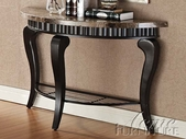 ACME 80070 BROWN SOFA TABLE-W/P2