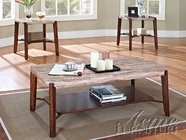 ACME 80085 SQUARE 3PC PK COFFEE/END TABLES