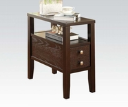ACME 80157 ESPRESSO SIDE TABLE