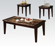 ACME 80505 3PC PK COFFEE/END TABLE SET