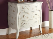 Acme 90020 White Bombay Chest