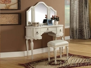ACME 90024-25 Trini White Finish vanity Set