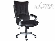 ACME 92018 BROWN BELLA W/BLACK PU OFFICE CHAIR