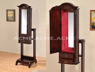ACME 97000 CHERRY RED LINING JEWELRY ARMOIRE (3A3B PACKING W/P2)