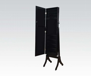 ACME 97065 BK JEWELRY ARMOIRE W/ MIRROR