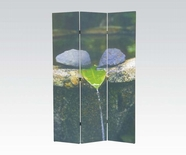 ACME 98033 3-PANEL WOODEN SCREEN
