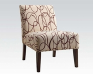 ACME Aberly 59070 FABRIC ACCENT CHAIR