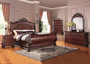 ACME Abramson 22360Q-22366-22367 CHERRY Bedroom Set