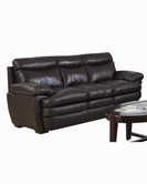 ACME Aldora 50725 2 TONE BROWN TOP GRAIN LEATHER MATCH SOFA