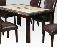 ACME Alec 70730 FX MARBLE DINING TABLE
