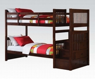 ACME Alem 37020 ESPRESSO BUNK BED