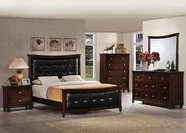 ACME Amaryllis 22380Q-22384-22385 CHERRY Bedroom Set