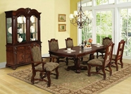 ACME Amaryllis 60125-60127 CHERRY DINING TABLE SET