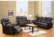 ACME Arcadia 50935-50936 ESPRESSO BL SOFA SET W/POWER MOTION