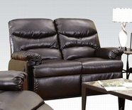 ACME Arcadia 50939 BROWN BL LOVESEAT W/POWER MOTION