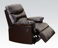 ACME Arcadia 50940 BROWN BL RECLINER W/POWER MOTION