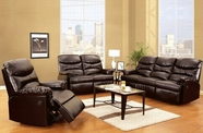 ACME Arcadia 50945-50946 CRACKED BROWN BL SOFA W/POWER MOTION