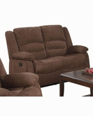 ACME Bailey 51026 DARK BR CHENILLE MOTION LOVESEAT