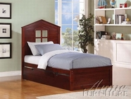 ACME Bale 30075T-30083 ESPRESSO PANEL TWIN BED WITH TRUNDLE