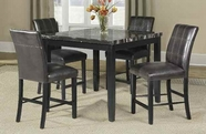 ACME Blythe 71070-71072 FAUX MARBLE COUNTER HEIGHT TABLE SET