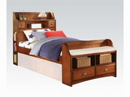 ACME Brandon 11005AF ANTIQUE-OAK FULL BED HB/FB/R -W/P2