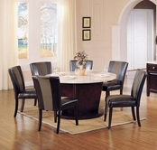 ACME Britney 17148-17048 ROUND DINING SET