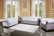 ACME Camden 50165-50166 WHITE BL SOFA SET