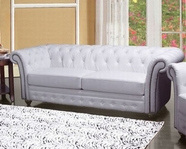 ACME Camden 50165 WHITE BL SOFA