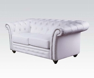 ACME Camden 50166 WHITE BL LOVESEAT
