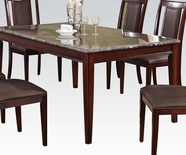 ACME Camelot 70700 BK MARBLE DINING TABLE