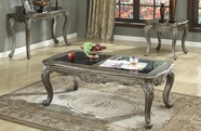 ACME Chantelle 80540-80541-80542 GRANITE TOP OCCASIONAL TABLE SET