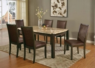 ACME Charissa 70750-70752 MARBLE DINING TABLE SET