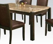 ACME Charissa 70750 MARBLE DINING TABLE