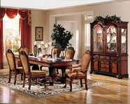 ACME Chateau De Ville 4075-4077 DBL PED DINING TABLE SET
