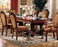 ACME Chateau De Ville 4075 DBL PED DINING TABLE