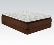 "ACME Cicely 29054 14"" Q CHOCOLATE BAMBOO PILLOW TOP MATRESS"
