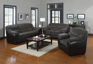 ACME Connell 15955C-15956C OLIVE GRAY CORDUROY/ESPRESSO PU LIVING ROOM SET