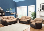 ACME Connell 51115-51116 SMALL KD SADDLE MFB & ESP. PU SOFA SET