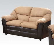 ACME Connell 51116 SMALL KD SADDLE MFB & ESP. PU LOVESEAT