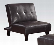 ACME Conrad 57010 ESPRESSO ADJ. ARMLESS CHAIR