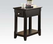 ACME Corin 80293 BLACK SIDE TABLE