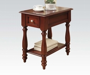 ACME Corin 80294 CHERRY FINISH SIDE TABLE