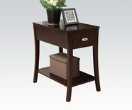 ACME Corin 80295 ESPRESSO SIDE TABLE