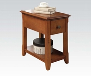 ACME Corin 80296 CHERRY FINISH SIDE TABLE