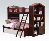 ACME Coyle 37090 (T/F) TWIN OVER FULL ESPRESSO BUNKBED