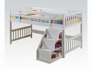 ACME Cutie 37065 WHITE LOFT BED