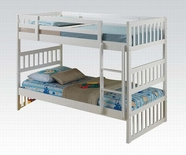 ACME Cutie 37070 WHITE BUNK BED